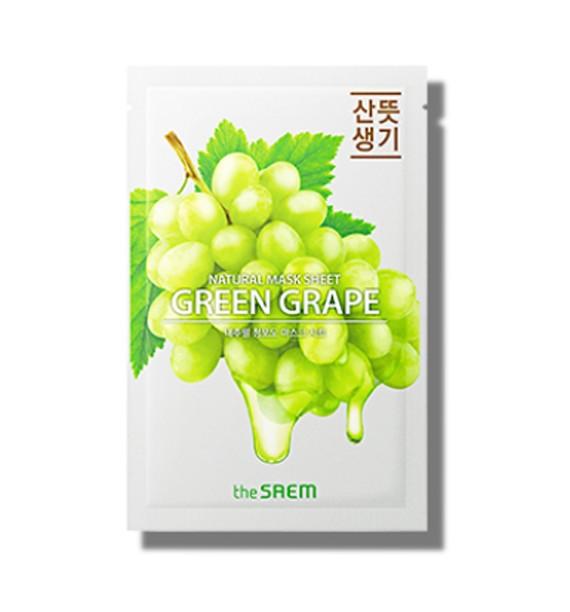 NATURAL GREEN GRAPE MASK SHEET