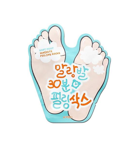SOFT FOOT PEELING SOCKS