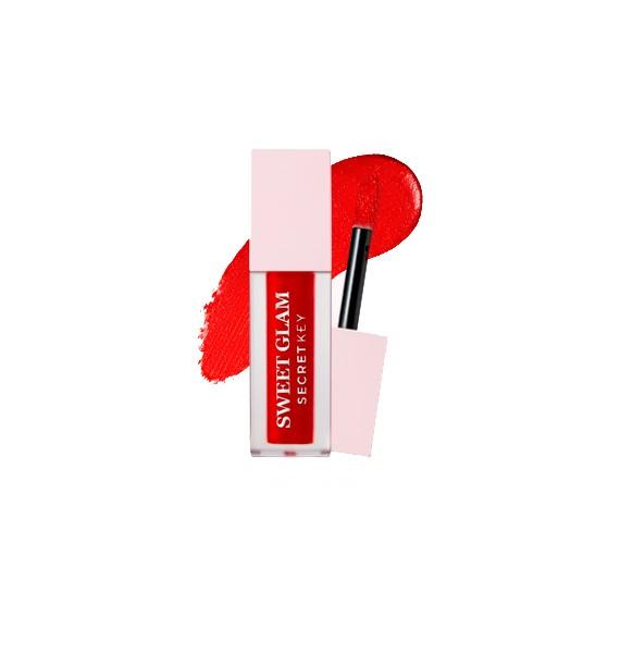 SWEET GLAM VELVET TINT 01 RED MORE