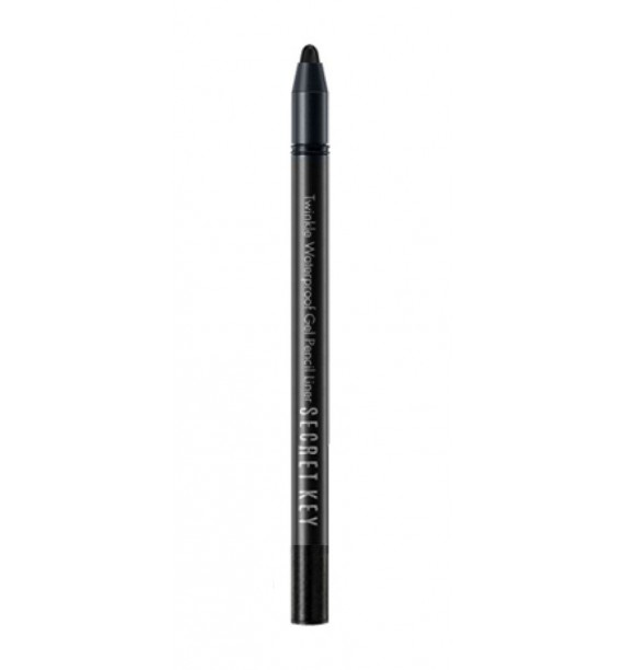 TWINKLE WATERPROOF GEL PENCIL LINER_11 REAL BLACK
